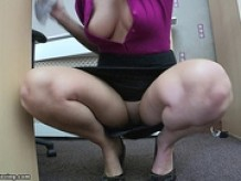 Hayley-Marie-Downblouse & Upskirt.10